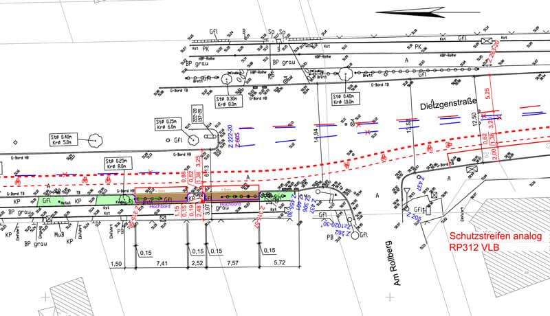 Dietzgenstraße | Planung von Radverkehrsanlagen und Projektsteuerung der Radverkehrsprogramme in Berlin