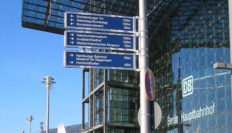 Übersichtskarte   Touristisches Wegeleitsystem für Berlin