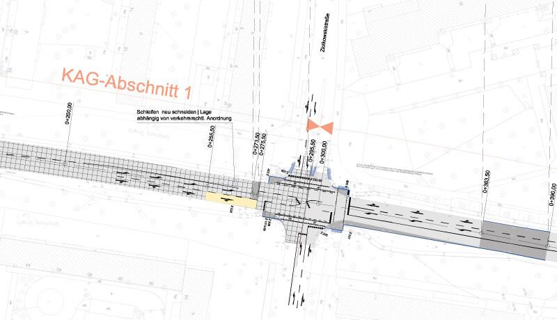 KAG Abschnitt   Instandsetzungs- und Erneuerungsmaßnahmen sowie Radverkehrsanlagenplanung in Potsdam-Süd