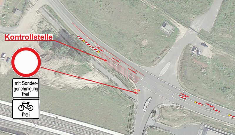 Kontrollstelle | Verkehrskonzept für die ILA 2014