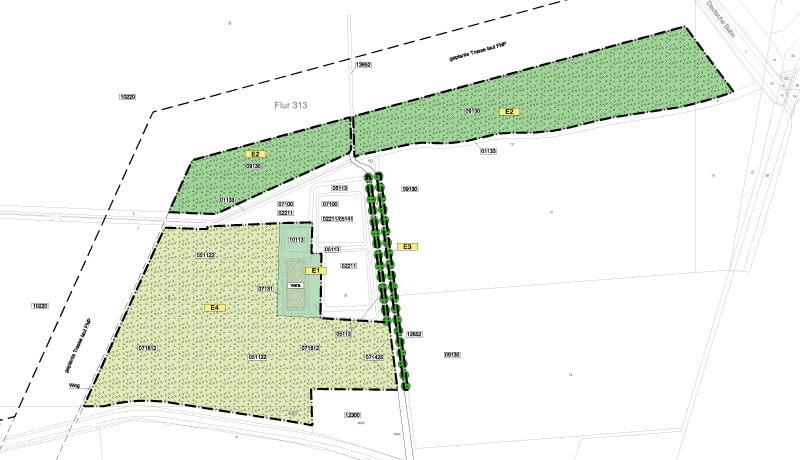 Landschaftspflege   Objektplanung der Verbindungsstraße zur B 2 in Karow