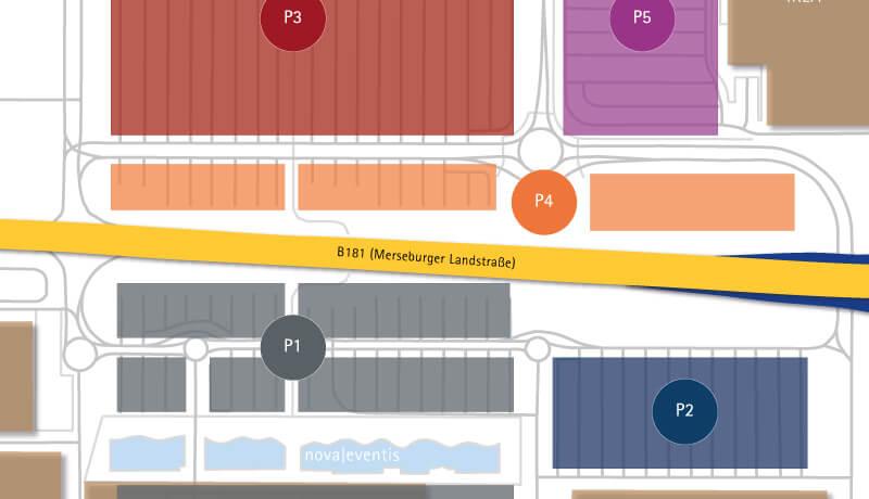 Parkplatz | Verkehrskonzept für den Saalepark Leuna-Günthersdorf