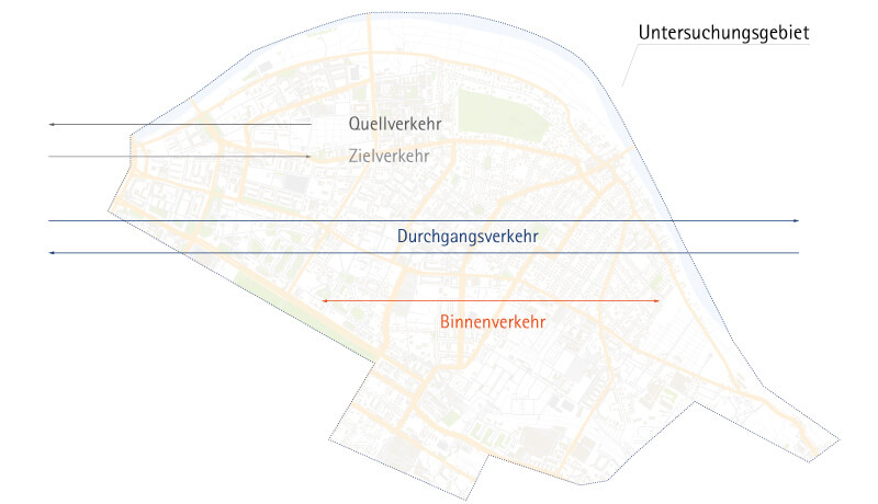 Untersuchungsgebiet | Kordonerhebung in Dresden in den Jahren 2010 und 2014