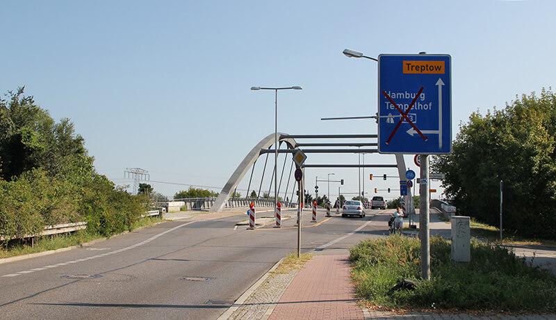Sperrung Zufahrt | Bauzeitliches Verkehrskonzept für die Erneuerung der Fahrbahn der A 113