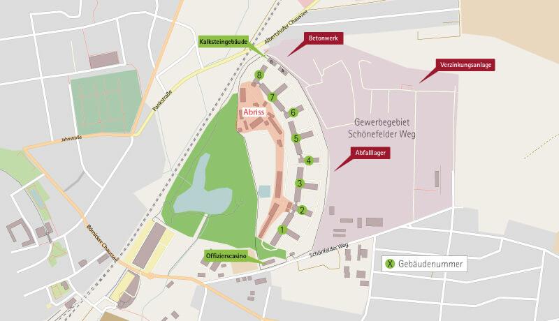 Lageplan | Immissionsschutzgutachten Wohnen am Panke-Park
