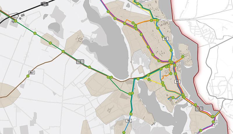ÖPNV Linien | Verkehrsentwicklungsplan der Stadt Werder (Havel)