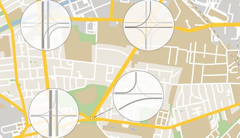 HBS-Bewertung | Planung der Fahrbahnsanierung und Radverkehrsanlagen entlang der Rixdorfer Straße in Berlin