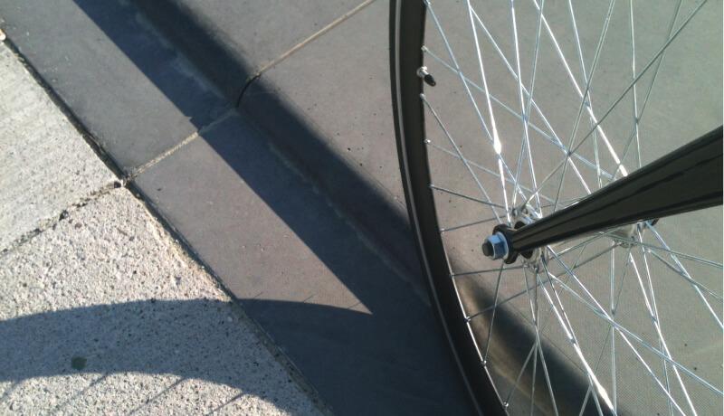 Kante Rad Bestandsaudit von Straßen für den Park am Gleisdreieck