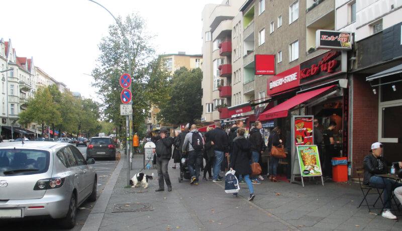 Konflikt Rad Fußgänger Sicherheitsaudit Begegnungszone Maassenstraße
