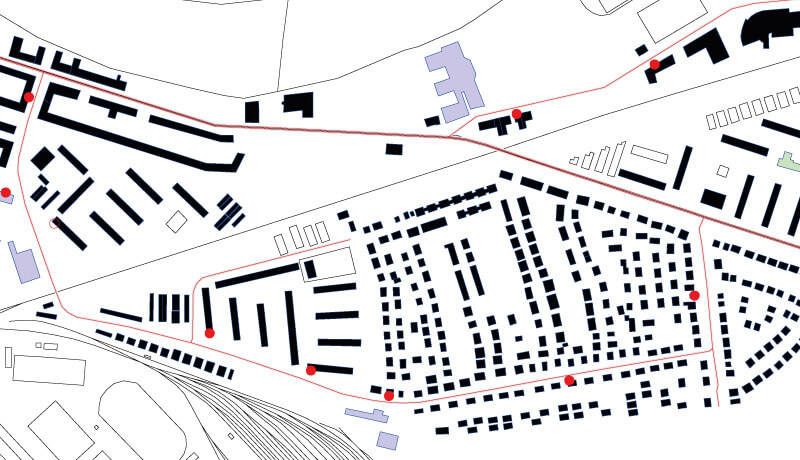 Modell | Schallschutzgutachten Sperrung Oberspreestraße