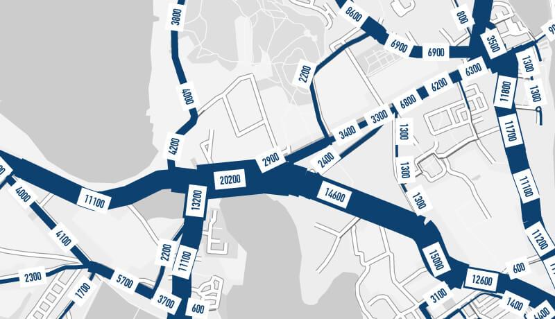 Netzspinne | Verkehrsentwicklungsplan der Stadt Werder (Havel)