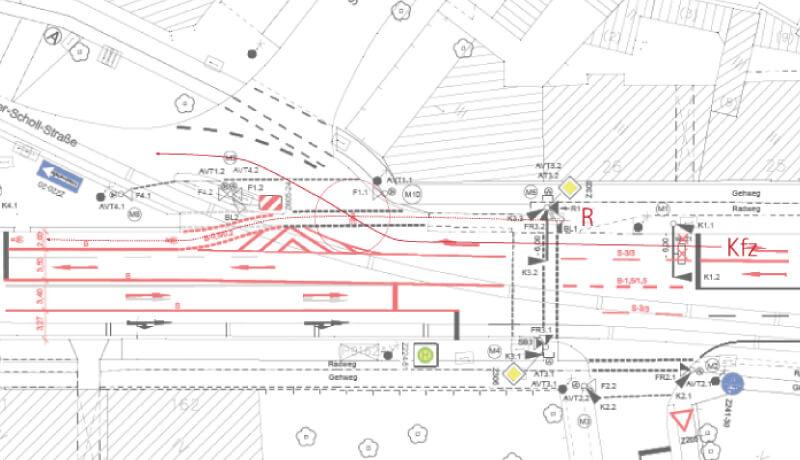 Plan Unfallanalyse Sicherheitsaudit Potsdam