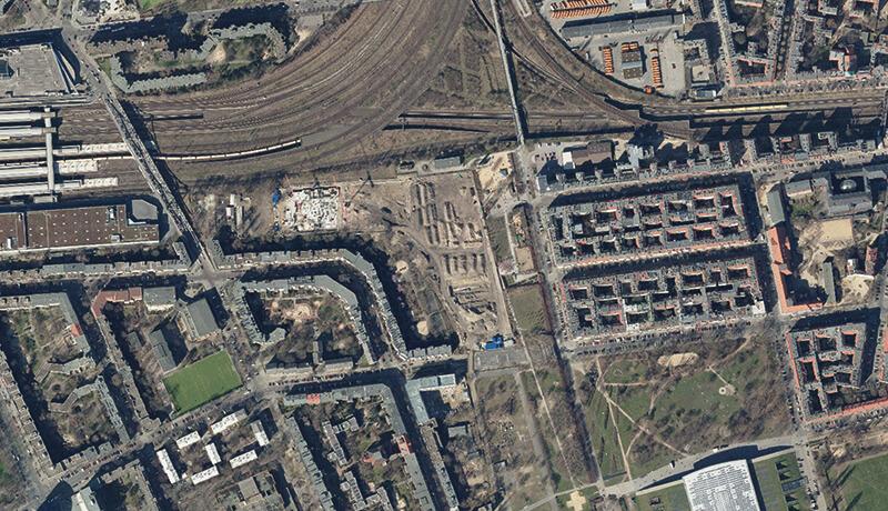 Digitales Orthiphotot   Schallschutzgutachten Wohnbebauung B-Plan 1-64