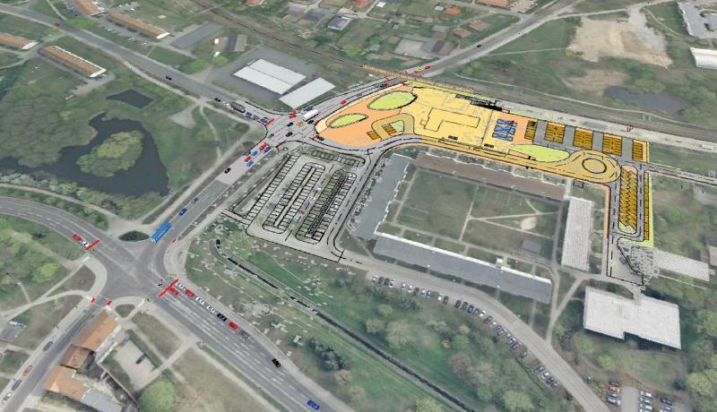 Simulation | Verkehrssimulation für das Bahnhofsumfeld Strausberg-Stadt
