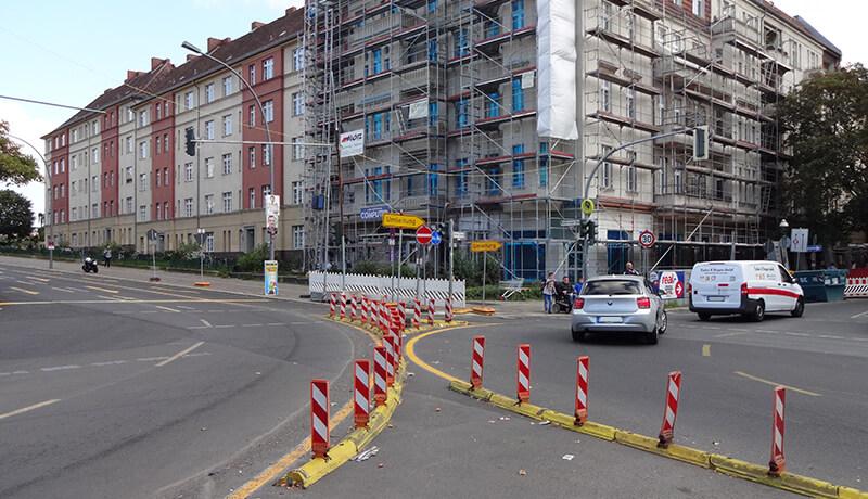 Umleitung_Bauzeitliches Verkehrskonzept Sanierung Bösebrücke