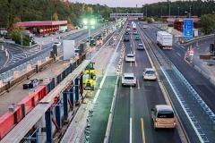 Brückenbau   Bauzeitliches Verkehrskonzept am Autobahnkreuz Zehlendorf