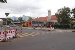 Ortsbesichtigung   Bauzeitliches Verkehrskonzept für den Neubau eines Pumpwerks in Berlin Charlottenburg-Wilmersdorf