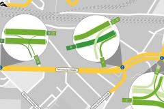 Prognose | Leistungsfähigkeitsbetrachtungen für das Stadtbahnprogramm Halle, Merseburger Straße