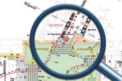 Sichtfeld_Sicherheitsaudit_Begegnungszone_Maassenstraße