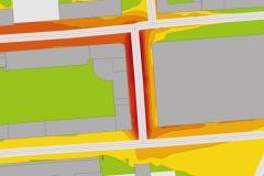 Schallausbreitung | Verkehrs- und Schallgutachten Axel Springer Campus
