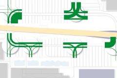 Spitzenstunde Werktag | Verkehrsgutachten zur Aufstellung des B-Plans Nr. 55 in Leuna