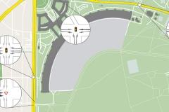 Planfall Leistungsfähigkeit | Verkehrskonzept für den Lieferverkehr am ehemaligem Flughafengebäude Tempelhof