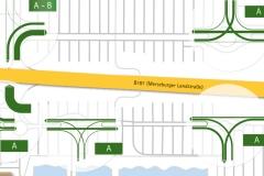 Leistungsfähigkeiten | Verkehrskonzept für den Saalepark Leuna-Günthersdorf