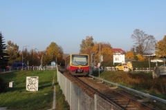 Bahnhofssituation | Verkehrssimulation für das Bahnhofsumfeld Strausberg-Stadt