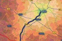 Netzplot | Verkehrsuntersuchung Raum Riesa im Rahmen des Ausbaus der B 169