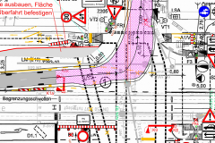Schleppkurve-Bauzeitliches-Verkehrskonzept-Berliner-Wasserbetriebe-Sanierungsgebiet-Treskowallee