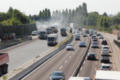 Fahrbahnerneuerung   Bauzeitliches Verkehrskonzept für die Erneuerung der Fahrbahn der A 113