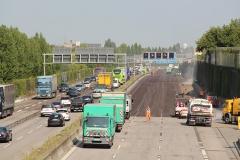 Fahrbahnsperrung   Bauzeitliches Verkehrskonzept für die Erneuerung der Fahrbahn der A 113