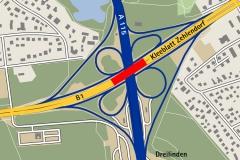 HL-Aktuell 2017_2 | Rück- und Neubau des Kreuzungsbauwerks am Kleeblatt Zehlendorf