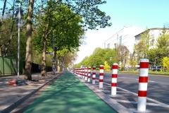 """HL_Aktuell-2019_2_""""Protected Bike Lanes"""" in Berlin Friedrichshain-Kreuzberg"""