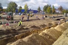 Bau | Planung der Außenanlagen und Bauleitung für den Bau des Siemensstadt-Parks in Berlin-Spandau