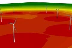 3D Darstellung | Schallschutzgutachten zur Erweiterung des Windparks in Krampfer/Reckenthin