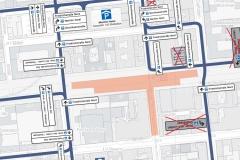 Bauzeitliches Parkleitsystem   Verkehrliche Planungsleistungen im Rahmen des Neubaus der U-Bahnlinie U5 in Berlin-Mitte