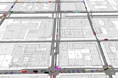 Übersicht Verkehr | Verkehrssimulation zur Öffnung der Friedrichstraße im Zuge des Neubaus der U5 in Berlin